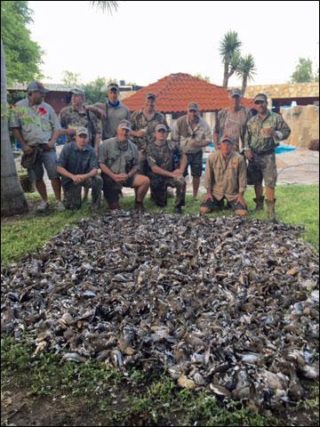 Tamaulipas Mexico Dove Hunt
