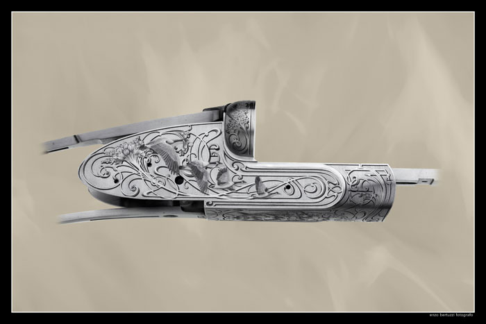 This is an engraving made by me Francesca on a F lli Rizzini