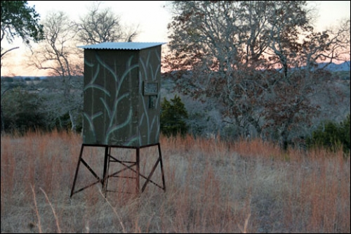 "One of Ann's ""solitary think tanks"" on Joshua Creek Ranch."