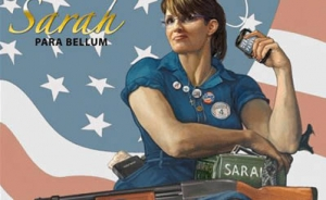 Sarah Palin Immortalized With Remington 870 Pump