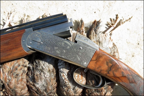 In the Field with the New Krieghoff 28-Gauge Parcours at Backwoods Quail Club