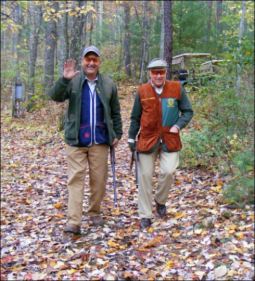 A Surprising Autumn Weekend of Sporting Clays with the Green Jacket Club