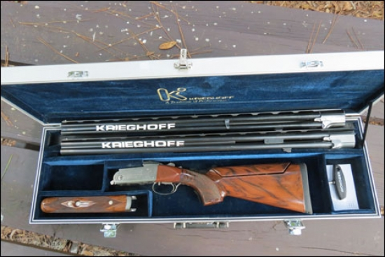 Want Some Clays Shooting Magic in Your Life? Just Add a Set of New 20-Gauge Parcours Barrels to the Original 12-Gauge Krieghoff Parcours